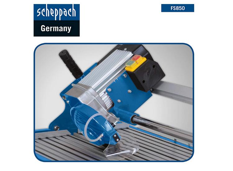 Scheppach Kity FS850 un outil puissant et précis